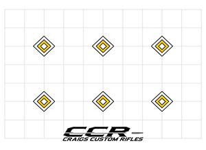 image about Free Printable Turkey Shoot Targets titled Cost-free Downloads Craigs Tailor made Rifles CCR