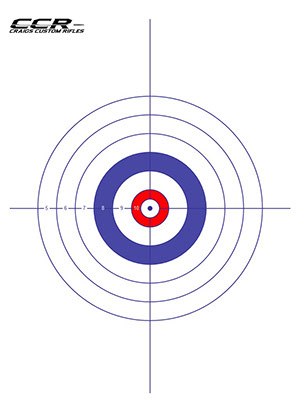 picture about Free Printable Turkey Shoot Targets called No cost Downloads Craigs Tailor made Rifles CCR